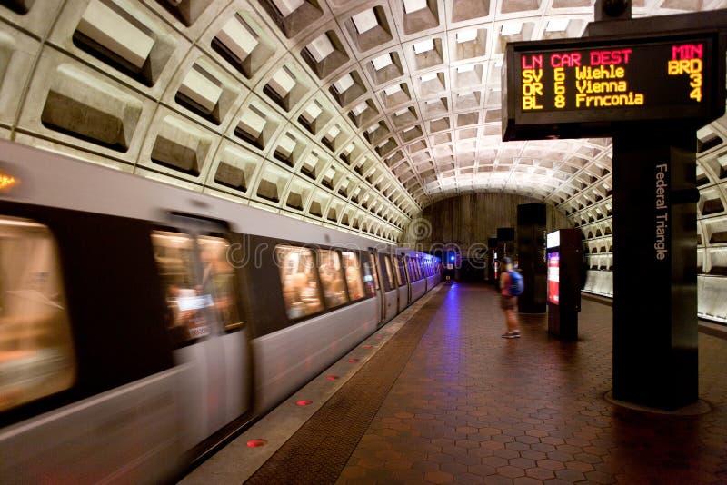 La Casa Bianca di di DC di Washington C metro fotografie stock libere da diritti