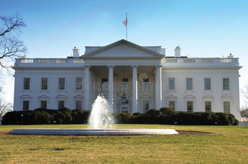 La Casa Bianca, parte anteriore, Washington fotografia stock