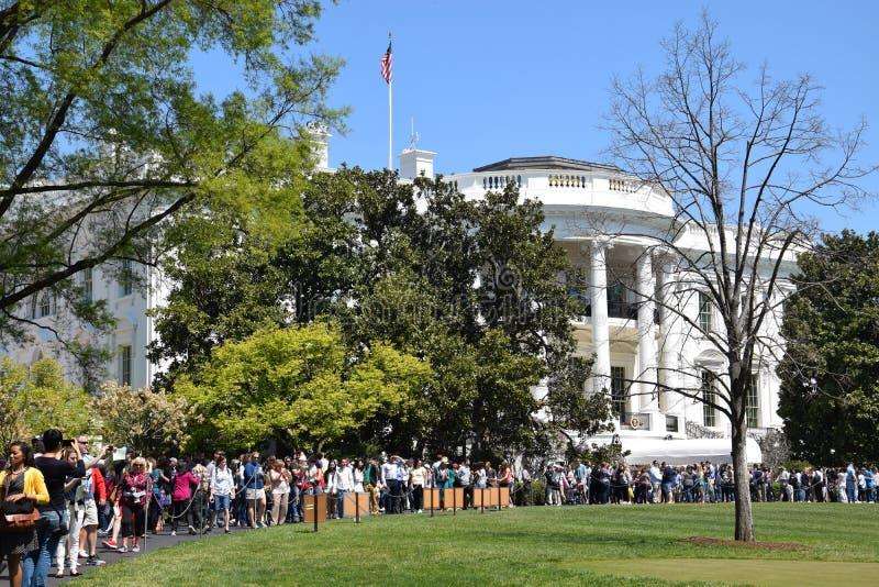 La Casa Blanca en Washington, DC fotos de archivo libres de regalías