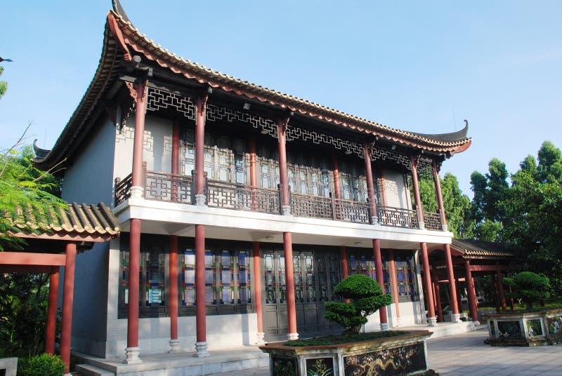 La casa cinese antica immagine stock immagine di giardino for Casa tradizionale cinese