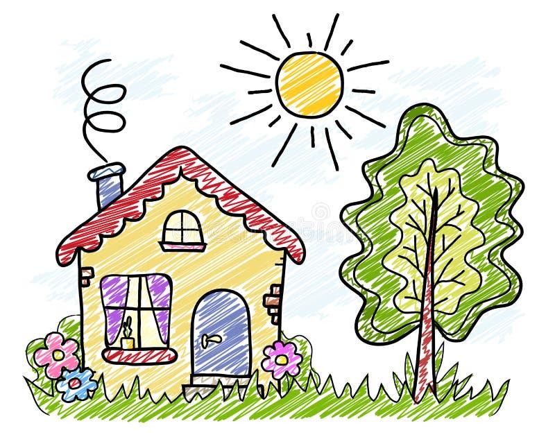 Dibujos De Casas De Campo Free Pagina Para Colorear De Una Casa