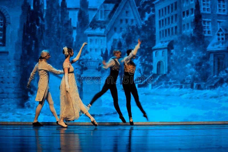 La casa de Shug Tal Bam Front Gate-The Ballet Nutcracker fotografía de archivo