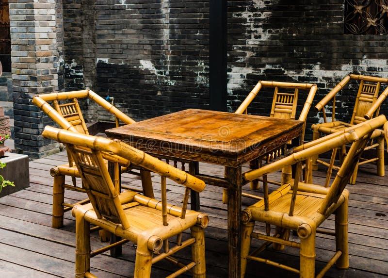 La casa de té china vieja fotos de archivo