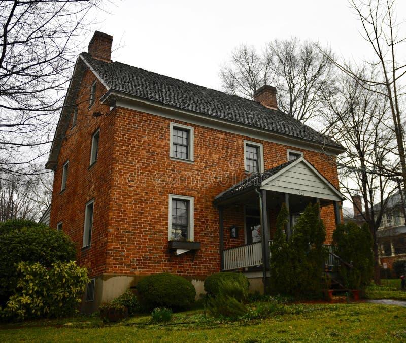 La casa de Zevely fotografía de archivo libre de regalías