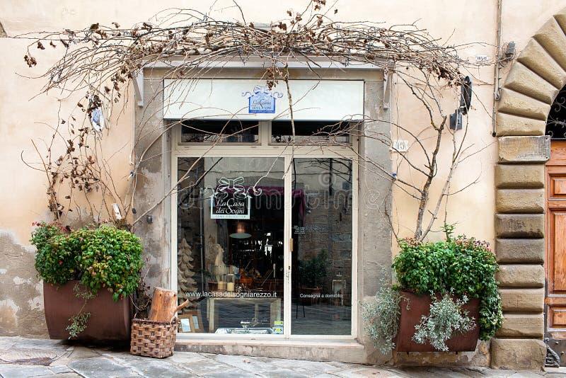 La casa dei sogni store arezzo italy editorial stock image for Casa dei sogni