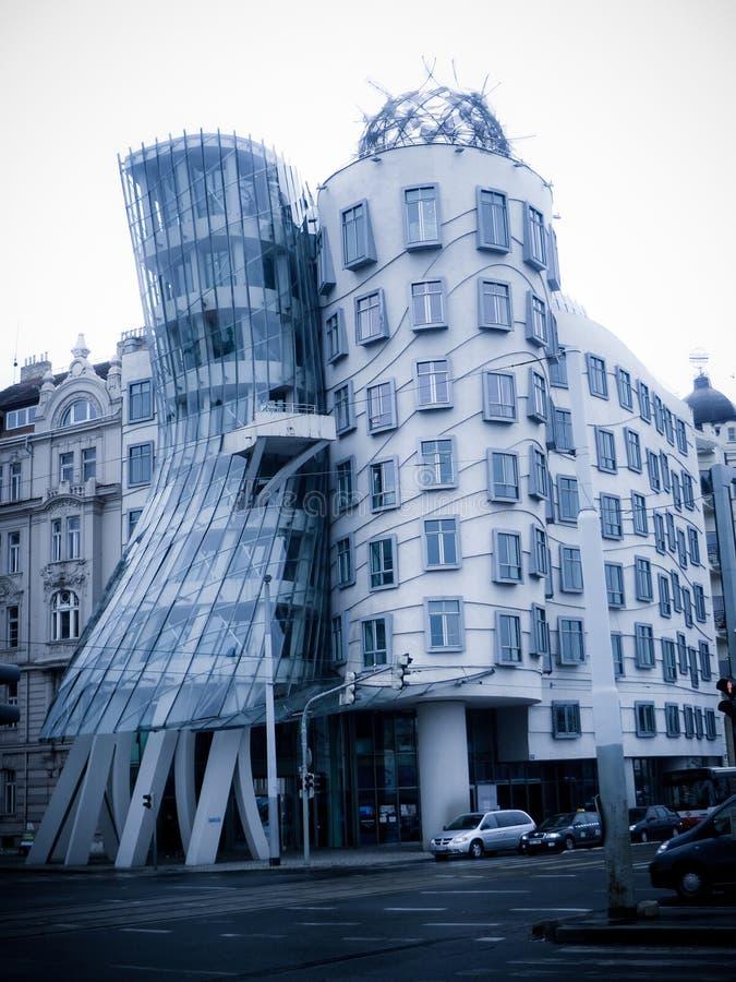 La casa del baile en Praga, República Checa fotografía de archivo libre de regalías