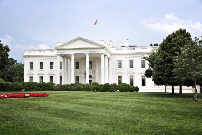 La casa del blanco de Washington fotografía de archivo