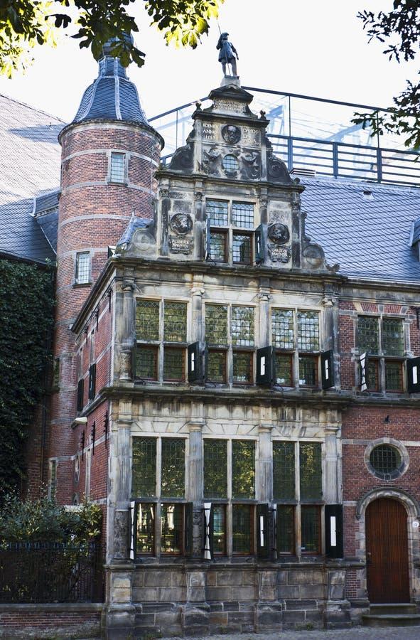 La casa del cardenal, Groninga, Holanda imagen de archivo