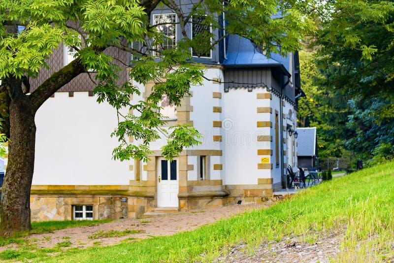 La casa del chalet Unger imágenes de archivo libres de regalías