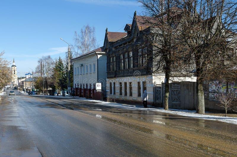 La casa del comerciante de Shokin foto de archivo libre de regalías