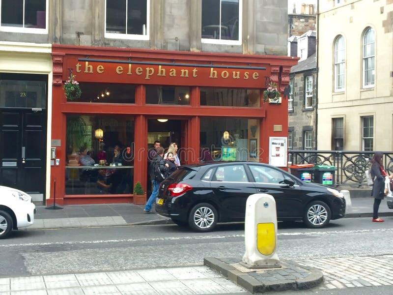 La casa del elefante imagen de archivo