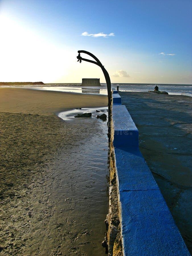 La casa del mar, Tarfaya fotografia stock