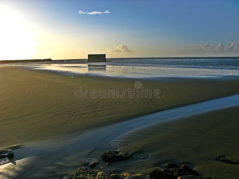 La casa del mar, Tarfaya immagine stock libera da diritti