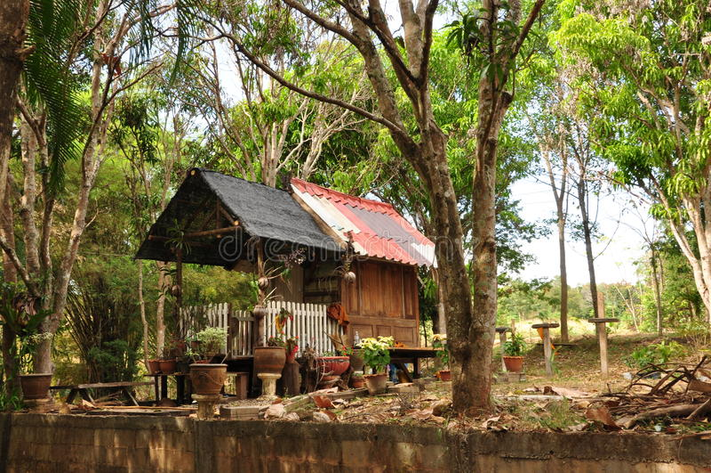La casa del monje fotos de archivo