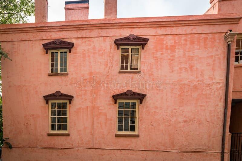 La casa del rosa de Olde fotografía de archivo