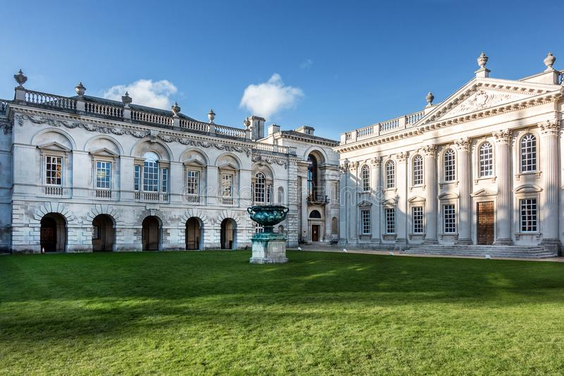 La casa del senado en Cambridge foto de archivo libre de regalías