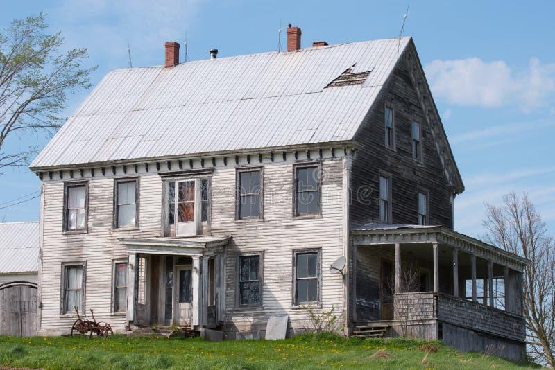 La casa di campagna immagini stock