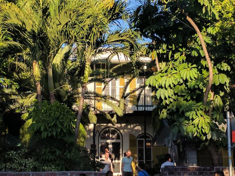 La casa di Earnest Hemingway immagine stock libera da diritti