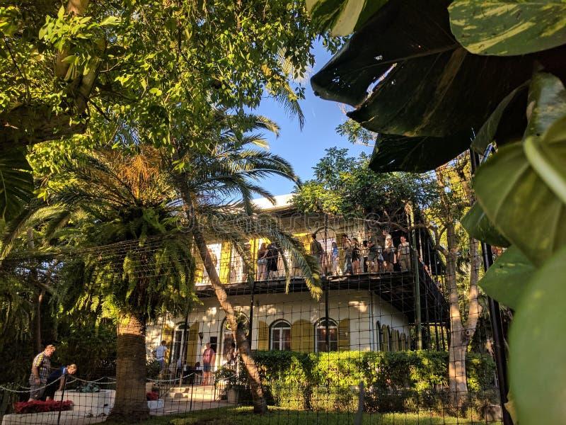 La casa di Earnest Hemingway immagine stock