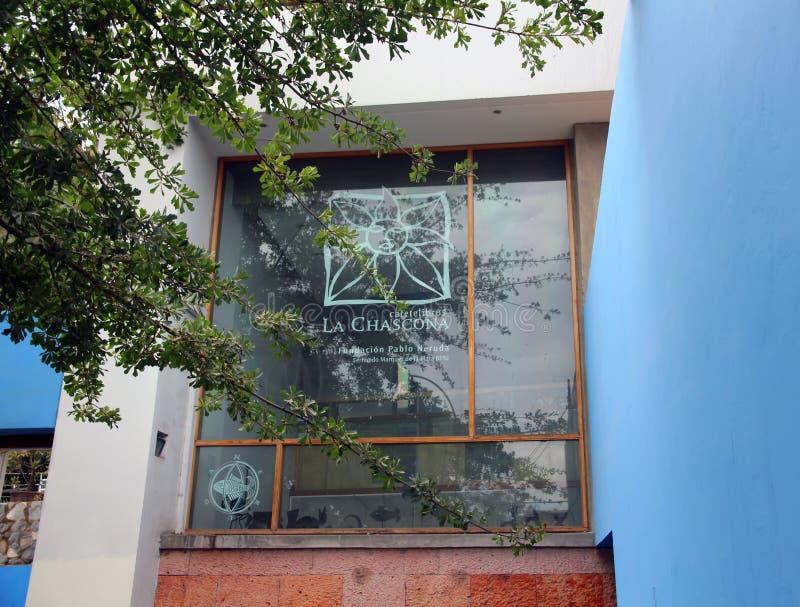 La casa di Pablo Neruda fotografie stock