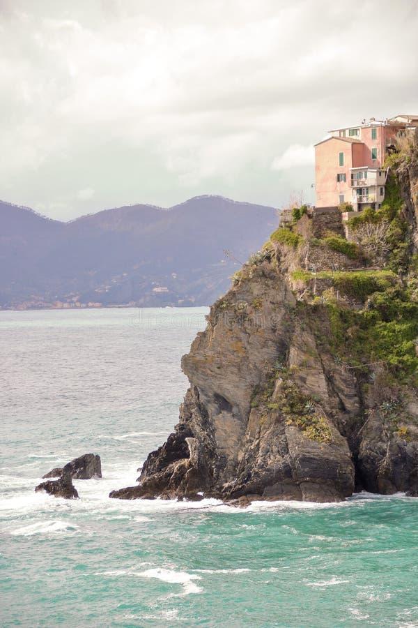 La casa en la roca fotos de archivo libres de regalías
