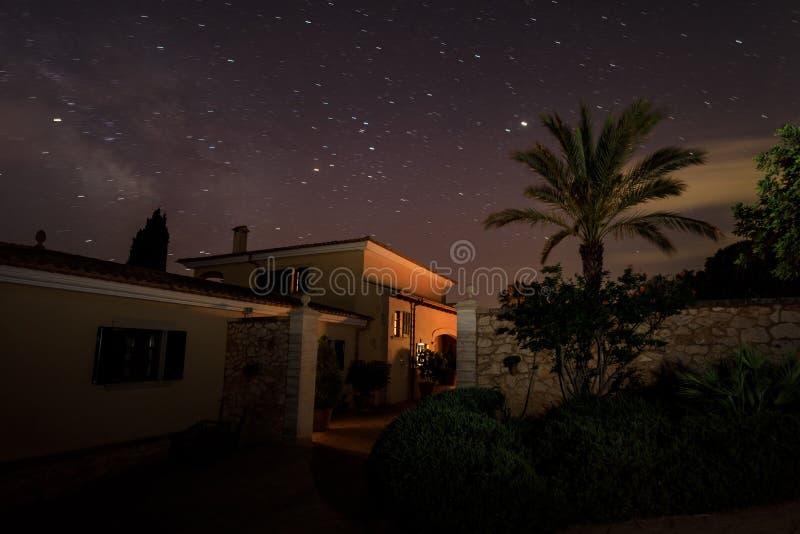 La casa española fotos de archivo