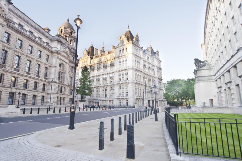 La casa guarda la avenida, Londres imagenes de archivo
