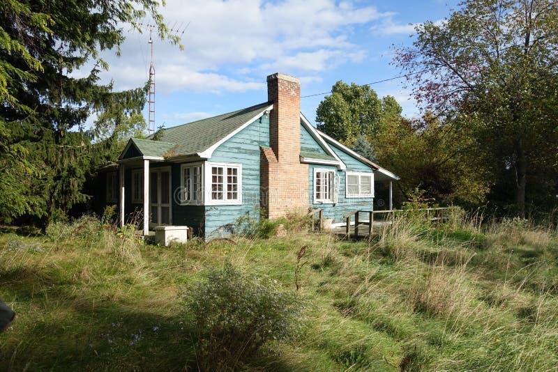 La casa incantata fotografie stock libere da diritti