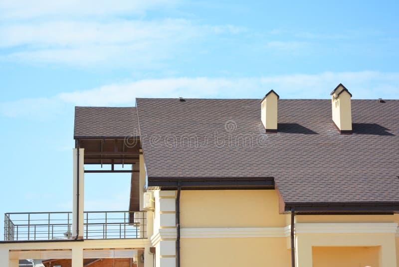 La Casa Moderna Con Il Terrazzo Del Balcone, Il Sistema Della ...