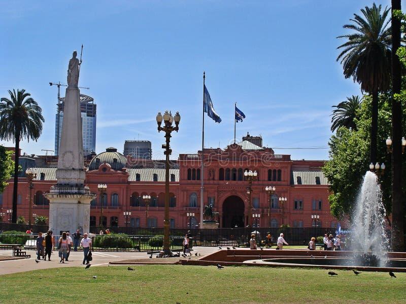 La casa Rosada, la Argentina fotos de archivo