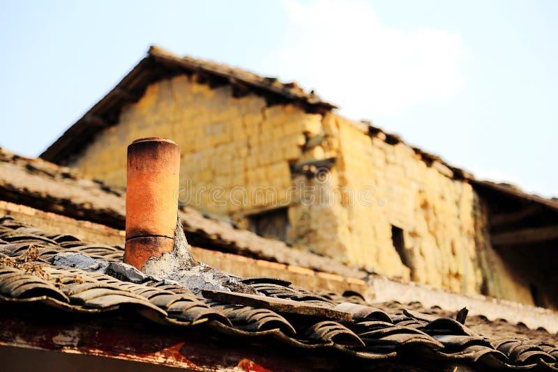 La casa rotonda, Tulou, stile cinese speciale Buling di hakka di A fotografie stock libere da diritti
