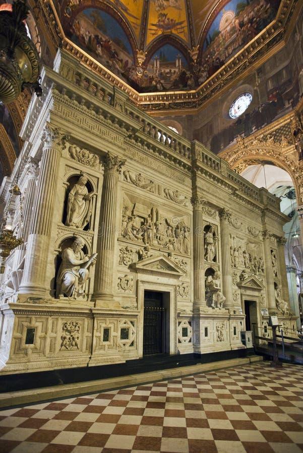 La casa santa de Loreto fotografía de archivo libre de regalías