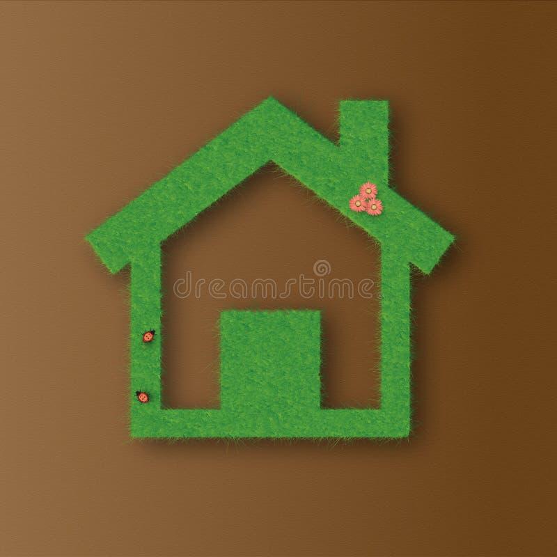 La casa verde imagenes de archivo
