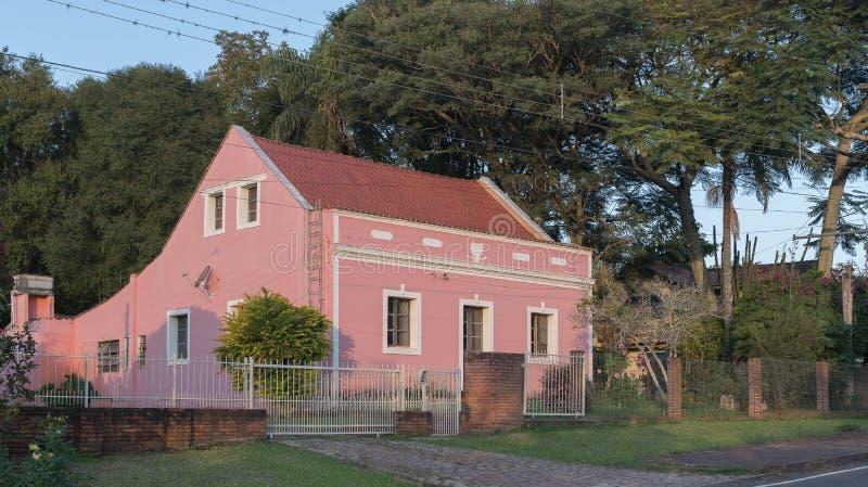 La casa vieja y su arquitectura clásica 02 imagen de archivo