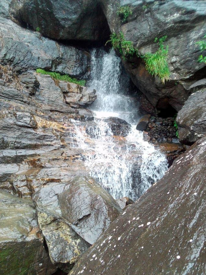 La cascada de la caída del ` s del amante en Sri Lanka foto de archivo libre de regalías