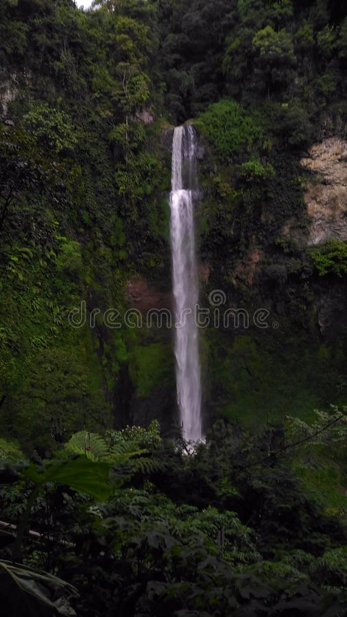 La cascada de Cimahi imágenes de archivo libres de regalías