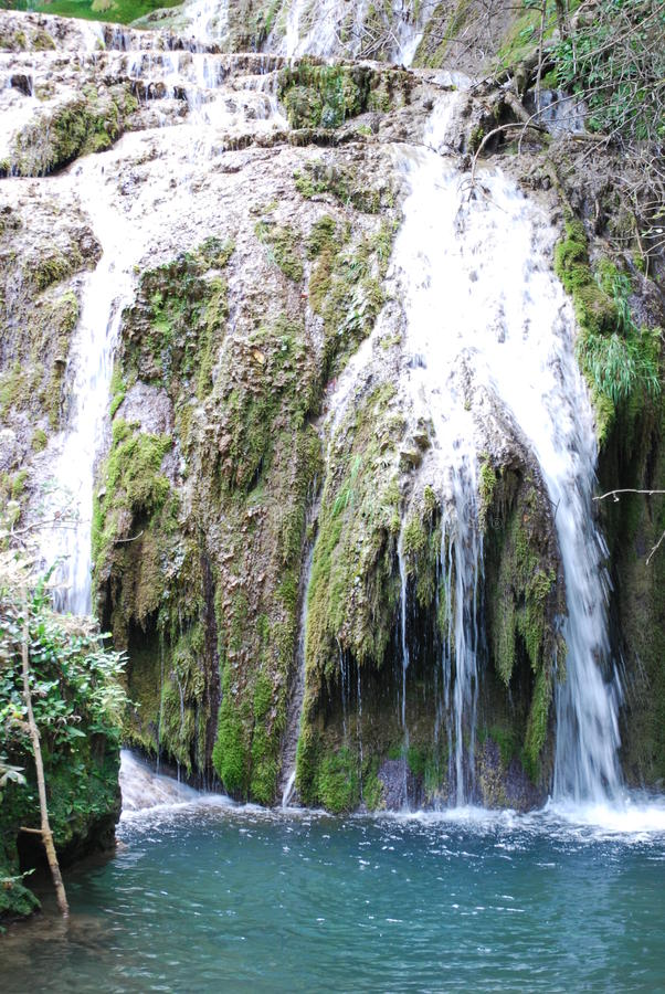 La cascada de Krushuna foto de archivo