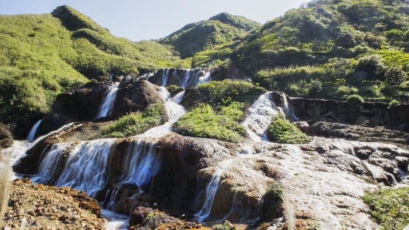 La cascada hermosa imagenes de archivo