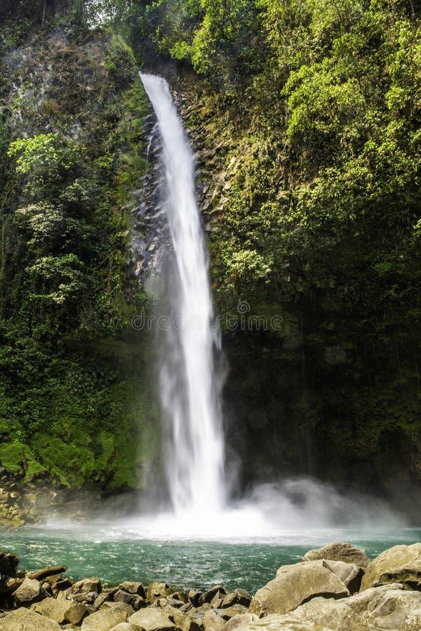 La cascata di Fortuna della La cade 70 metri fotografia stock