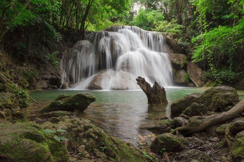 La cascata di Huai Mae Kamin immagine stock