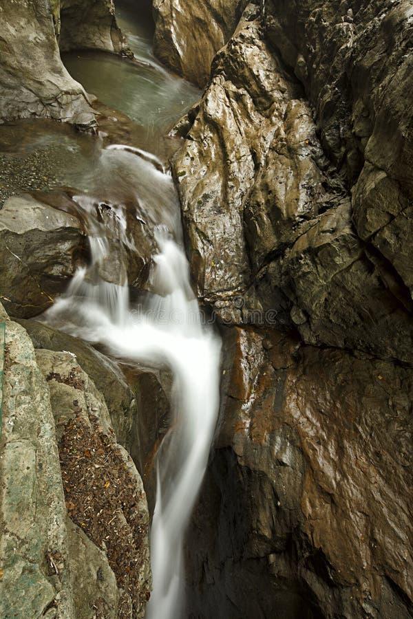 La cascata di Samandere immagine stock