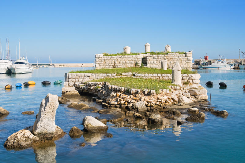 La Cassa. Bisceglie. Apulia. stock images