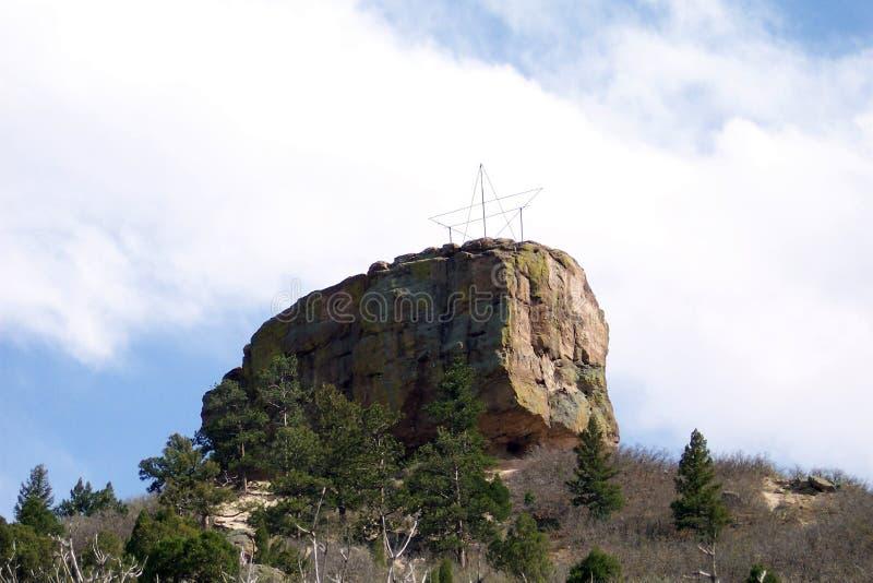 La Castle Rock de la roca @ fotos de archivo libres de regalías