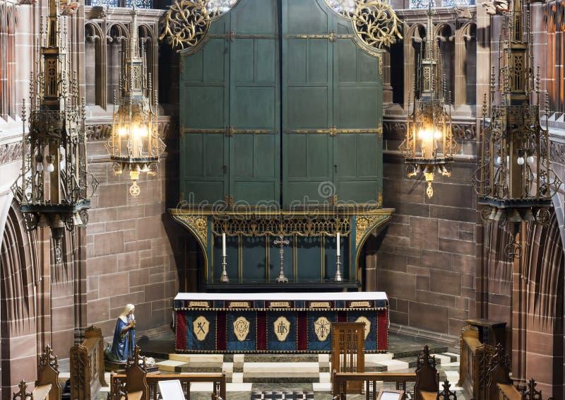 La catedral altera imagenes de archivo