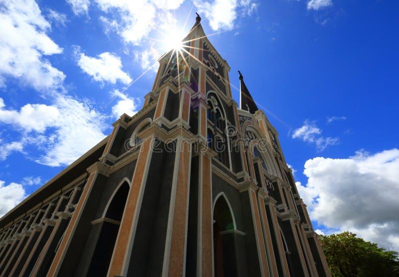 La catedral católica fotos de archivo libres de regalías
