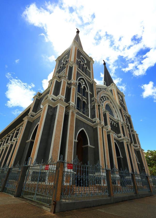 La catedral católica imágenes de archivo libres de regalías