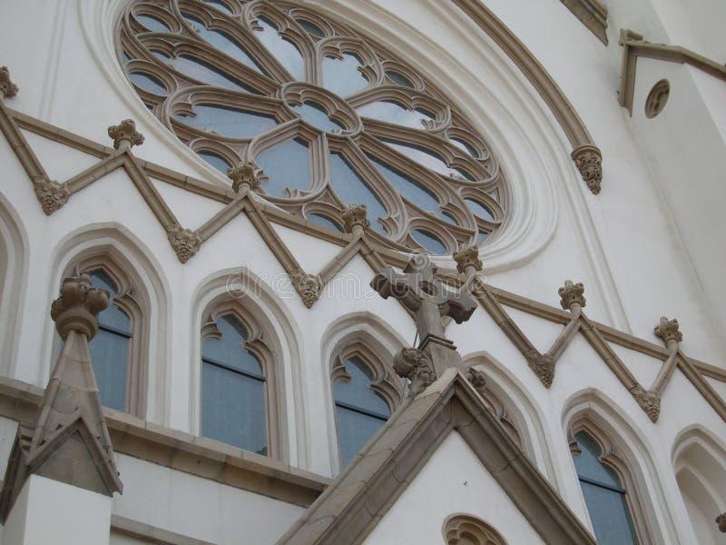La catedral católica de St John fotografía de archivo