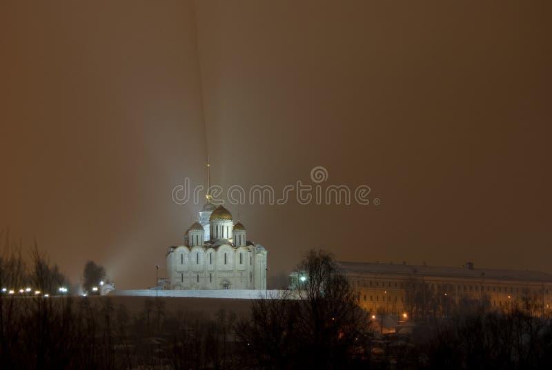La catedral de Dormition. Vladimir. Rusia imagen de archivo libre de regalías