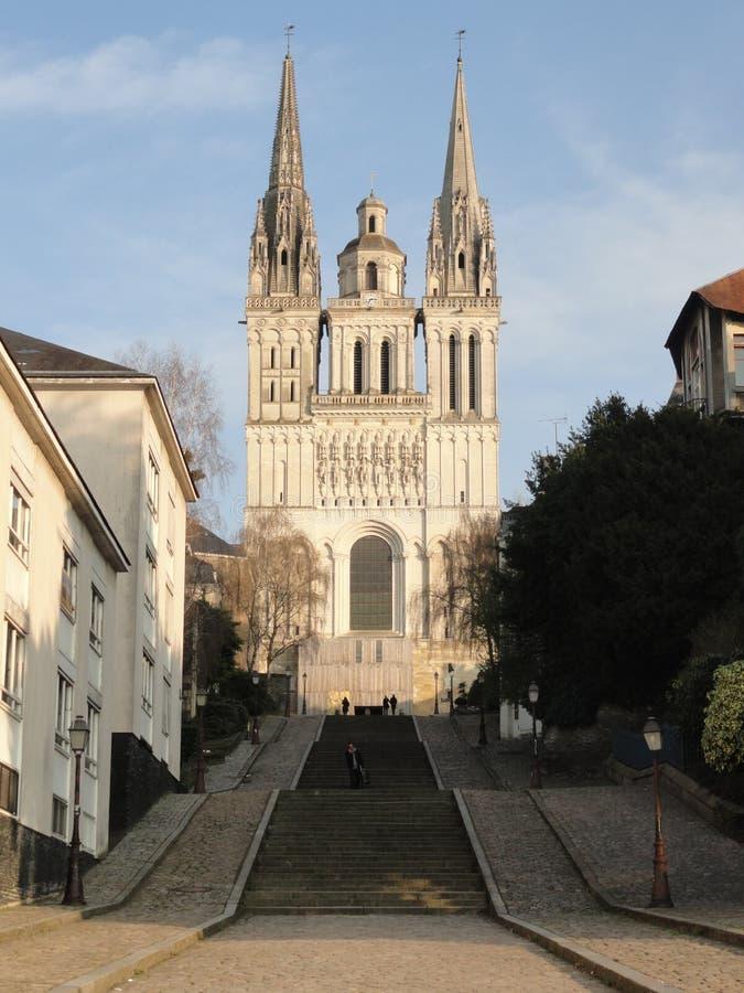 La catedral de enoja, Francia imagenes de archivo