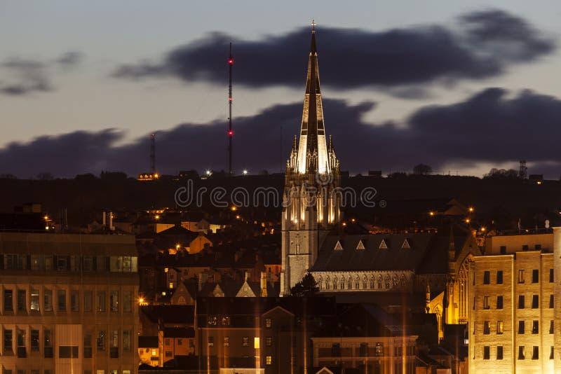 La catedral de Eugene del santo en Derry fotos de archivo
